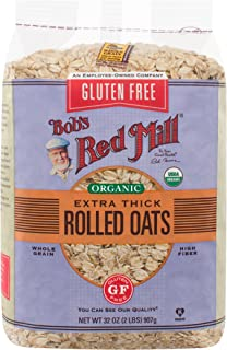 product image for Bob's Red Mill Gluten Free Organic Thick Rolled Oats, 32 Ounce