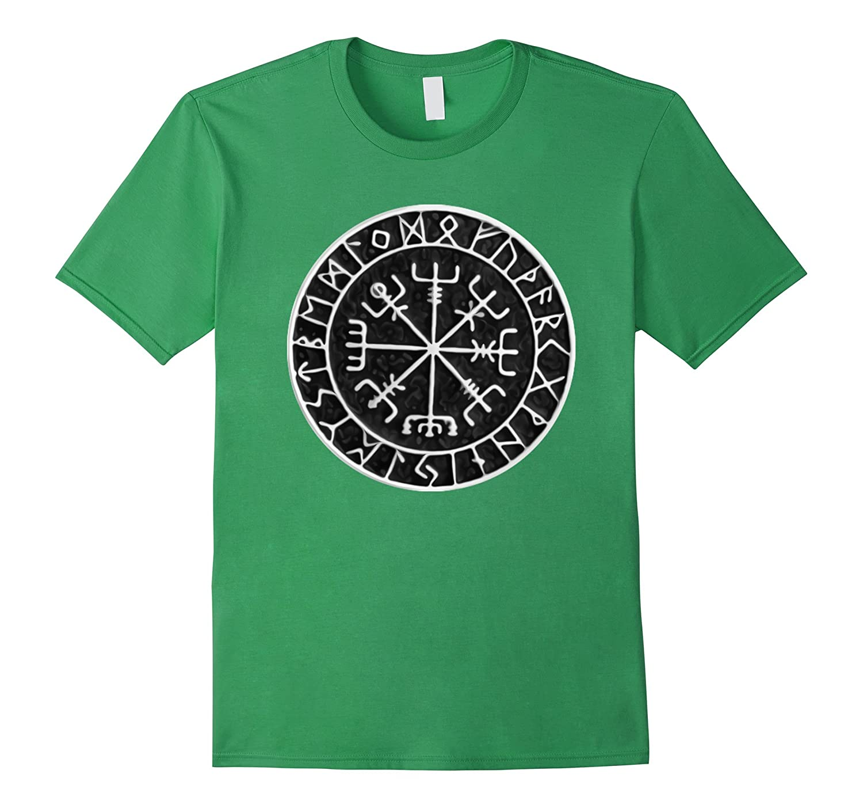 Vegvisir Protection Sigil Norse Viking Galdrabok shirt-CL