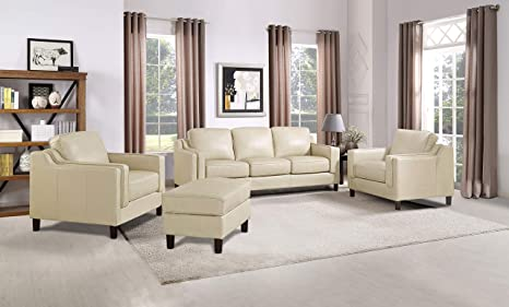Fantastic Amazon Com Hydeline Bella 100 Leather Set Sofa Loveseat Uwap Interior Chair Design Uwaporg