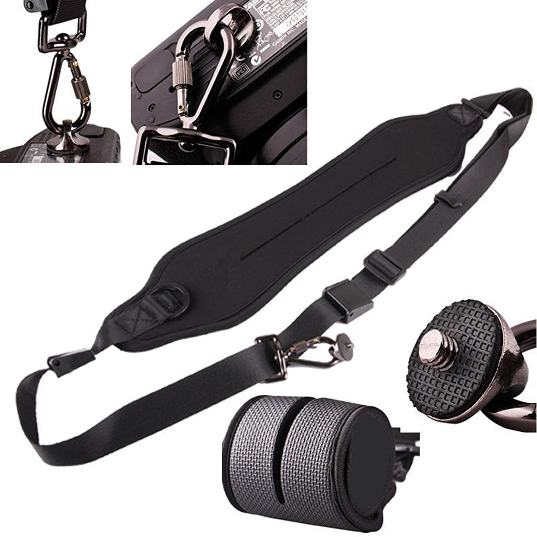 Qumox Black Quick Strap Setup Camera Shoulder Neck Belt Amazonco Caden Rapid Sling Kamera Photo