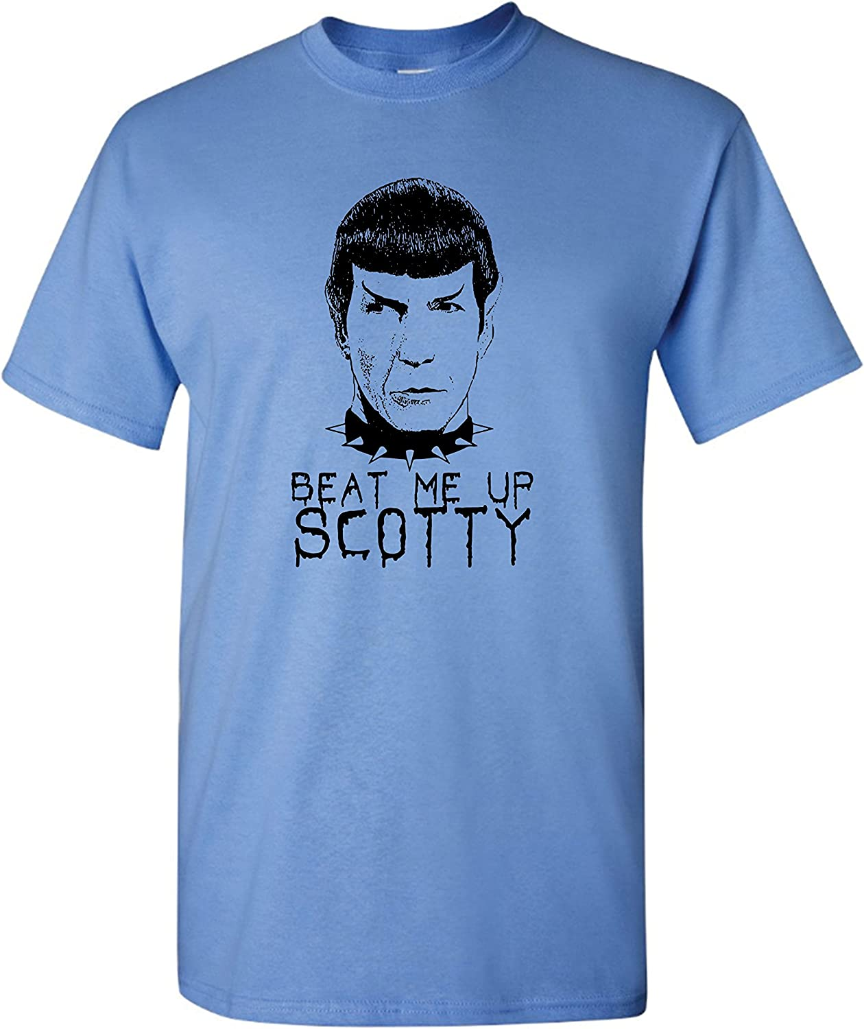 Spock On T-Shirt 100/% Cotton Spoof Funny Rock On