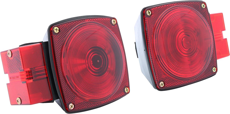 "Optronics TLL-16RK Low Profile LED Waterproof 80/"" Trailer Light Kit"