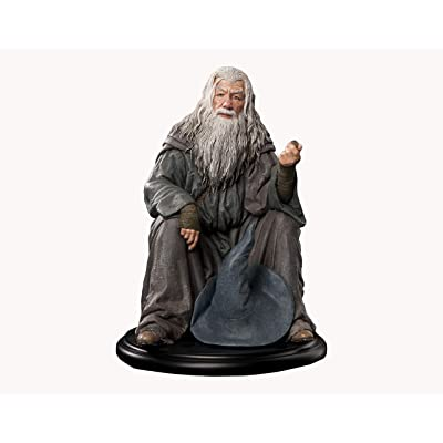 Weta Workshop Lord of The Rings Mini Statue - Gandalf, Multicolor: Toys & Games