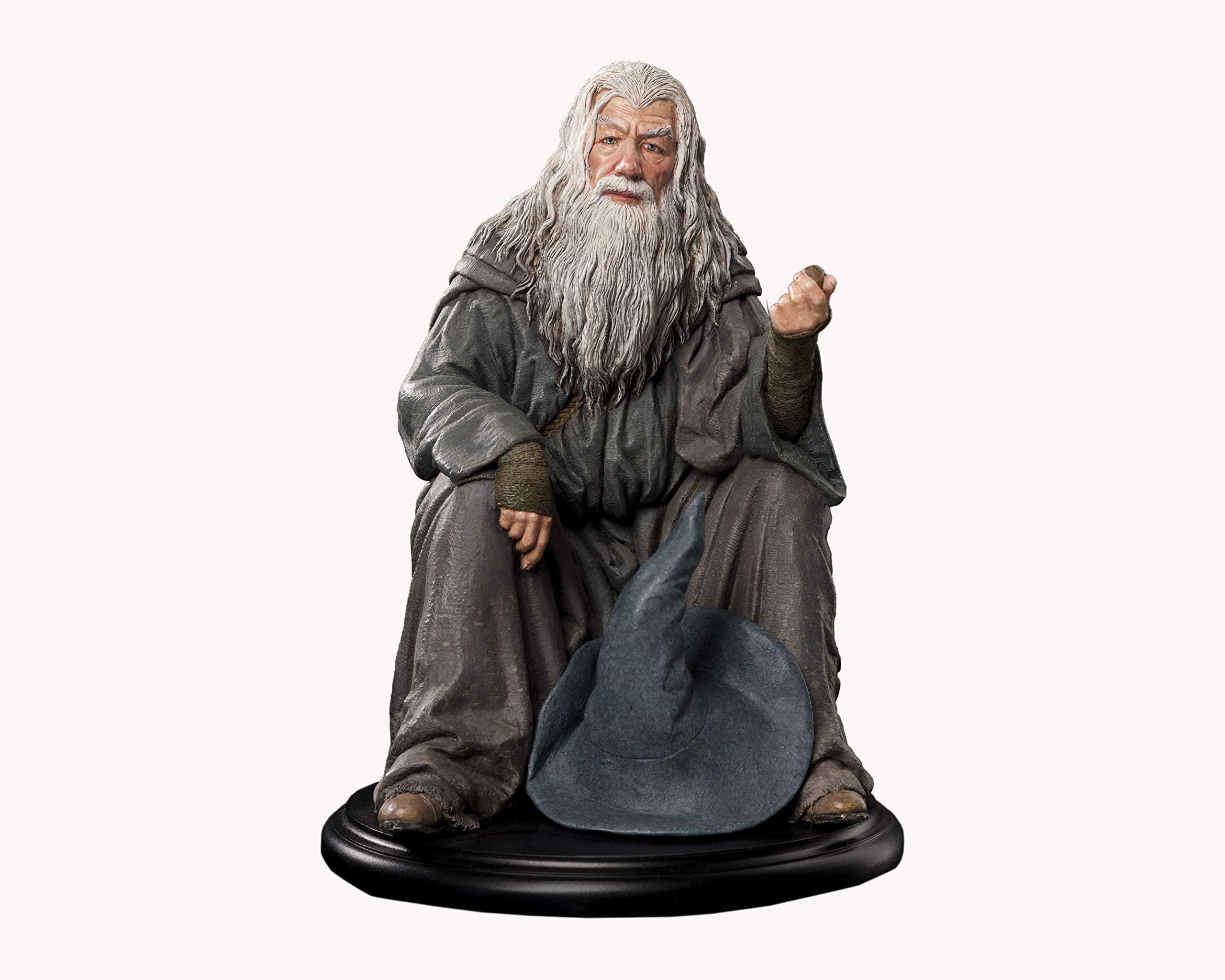 ویکالا · خرید  اصل اورجینال · خرید از آمازون · Weta Workshop Lord of The Rings Mini Statue - Gandalf wekala · ویکالا