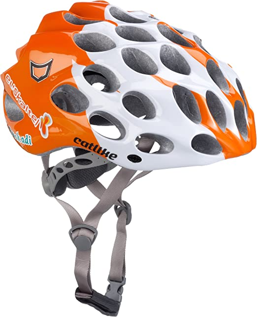 Catlike Whisper Plus - Casco de Ciclismo Orange/White Talla:Small ...
