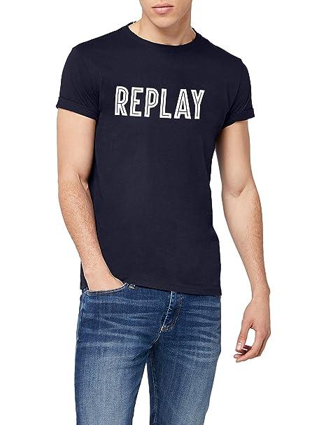 Ropa Amazon Para Accesorios Kurzarm Hombre Shirt Y es Camiseta Replay T0qXwgF