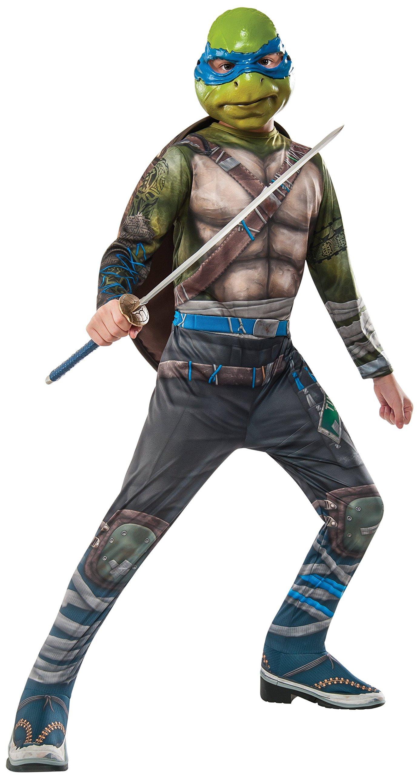 Rubie's Costume Kids Teenage Mutant Ninja Turtles 2 Value Leonardo Costume