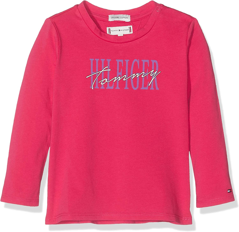 T-Shirt B/éb/é Fille Tommy Hilfiger Essential Graphic Tee L//S T