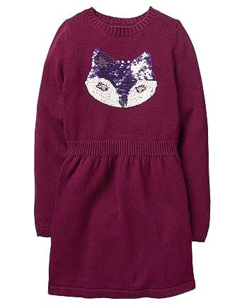 d09acb43adf Amazon.com  Gymboree Girls  Fox Sweater Dress  Clothing