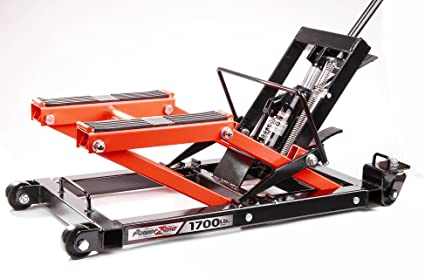 Amazon Com Powerzone 380047 1700 Lb Hydraulic Motorcycle Atv Jack