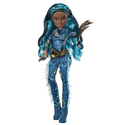 Disney Descendants Uma Fashion Doll, Inspired by Descendants 3, Brown: Toys & Games