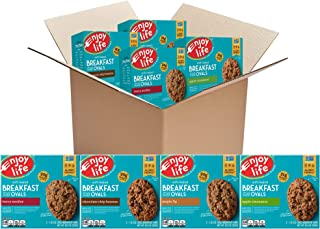 product image for Enjoy Life Foods Soft Baked Ovals, Breakfast Bars, Nut Free Bars, Soy Free, Dairy Free, Non GMO, Gluten Free, Vegan, Variety Pack, 4 Boxes (20 Bars Total)