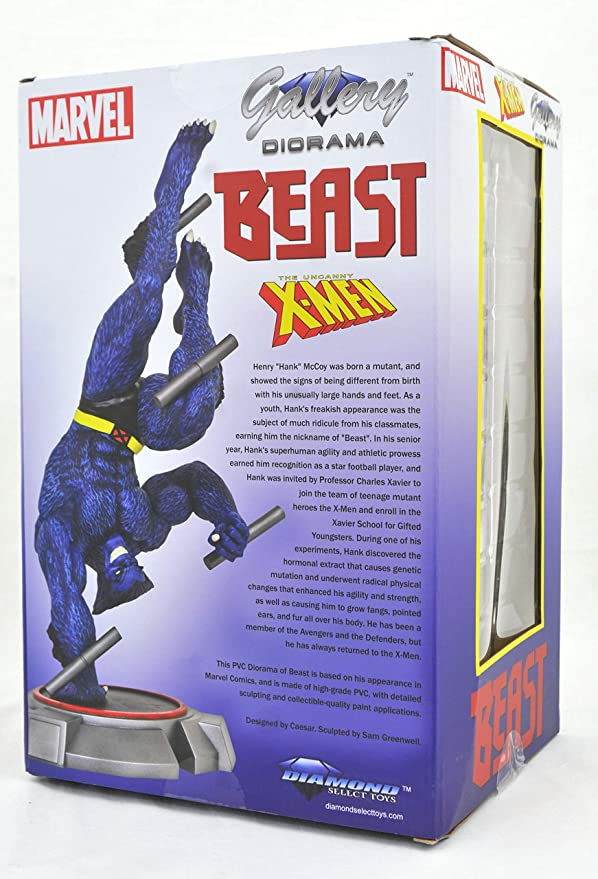 Diamond Select Marvel Gallery X-Men Beast Comic PVC Figure