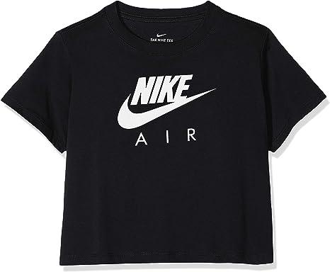 NIKE G NSW Air Crop - Camiseta de Manga Corta Niñas: Amazon.es: Ropa y accesorios