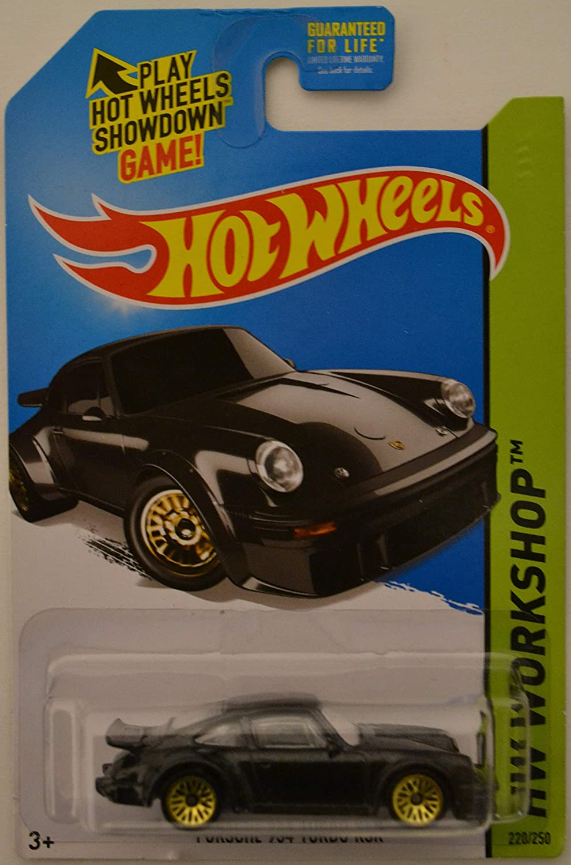 2014 Hot Wheels HW City Porsche 934 Turbo RSR #74//250 CFH17-09B0Q with 2015 back