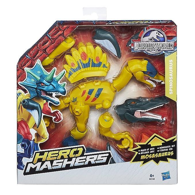 5 opinioni per Hasbro B1197 Jurassic World Hero Mashers Dinosauri con Accessori