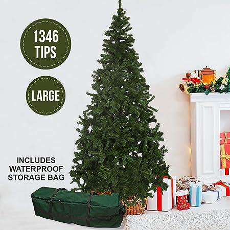 Olsen & Smith Grande 230 cm 1346 Puntas árbol de Navidad de Pino ...