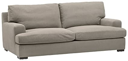 Beau Stone U0026 Beam Lauren Down Filled, Overstuffed Sofa, 89u0026quot; ...