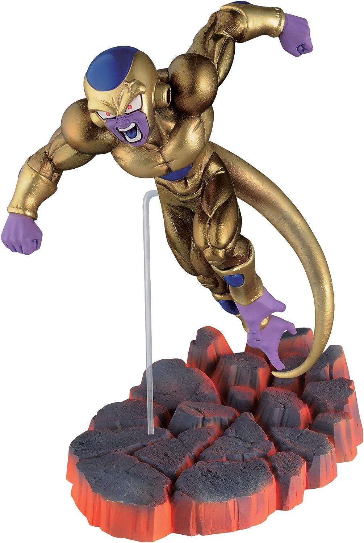 Banpresto Dragon Ball Z 3.1-Inch Golden Frieza Figure, Volume 2