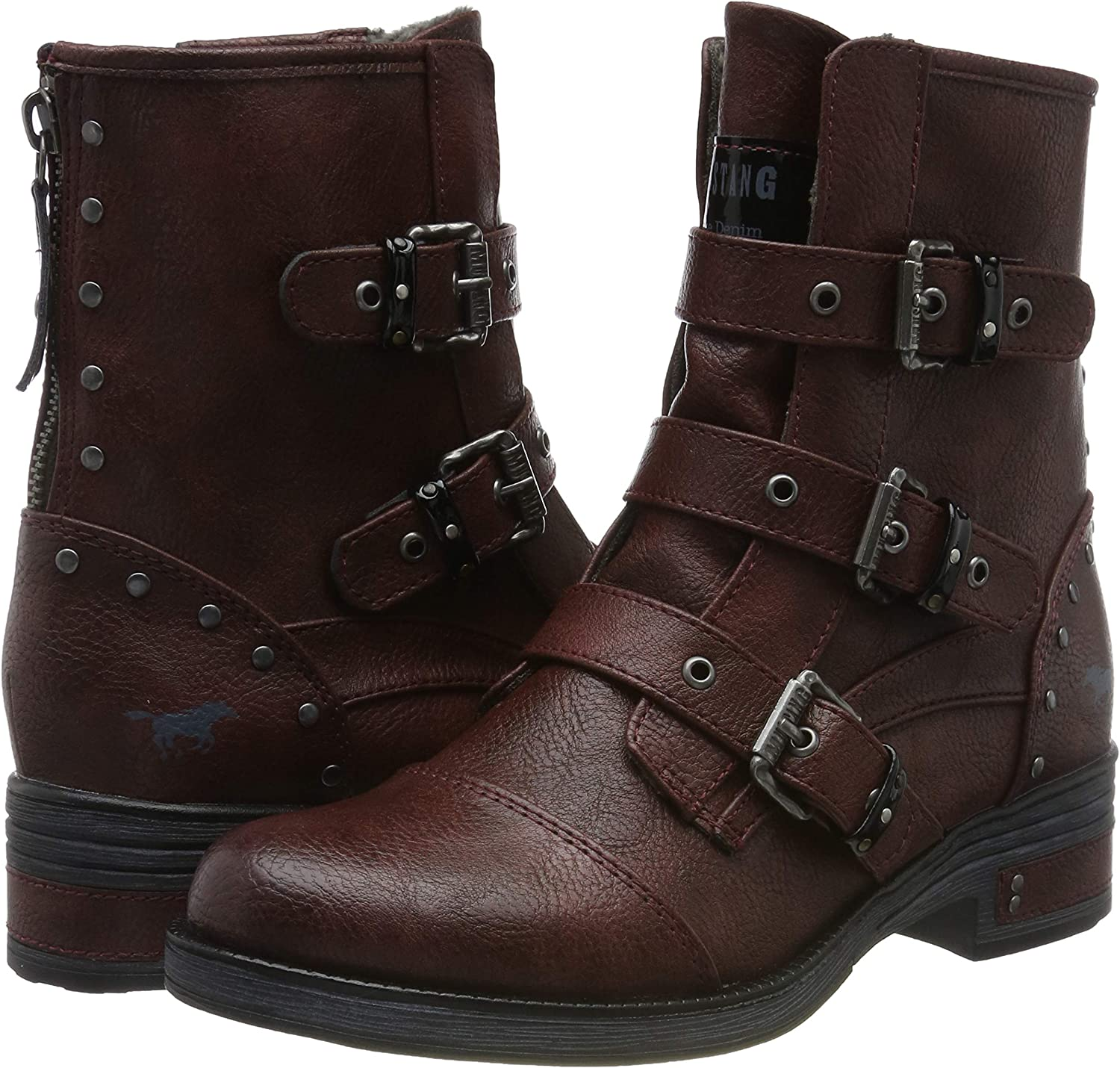 Mustang 1293 506 55, Bottines Femme: : Chaussures