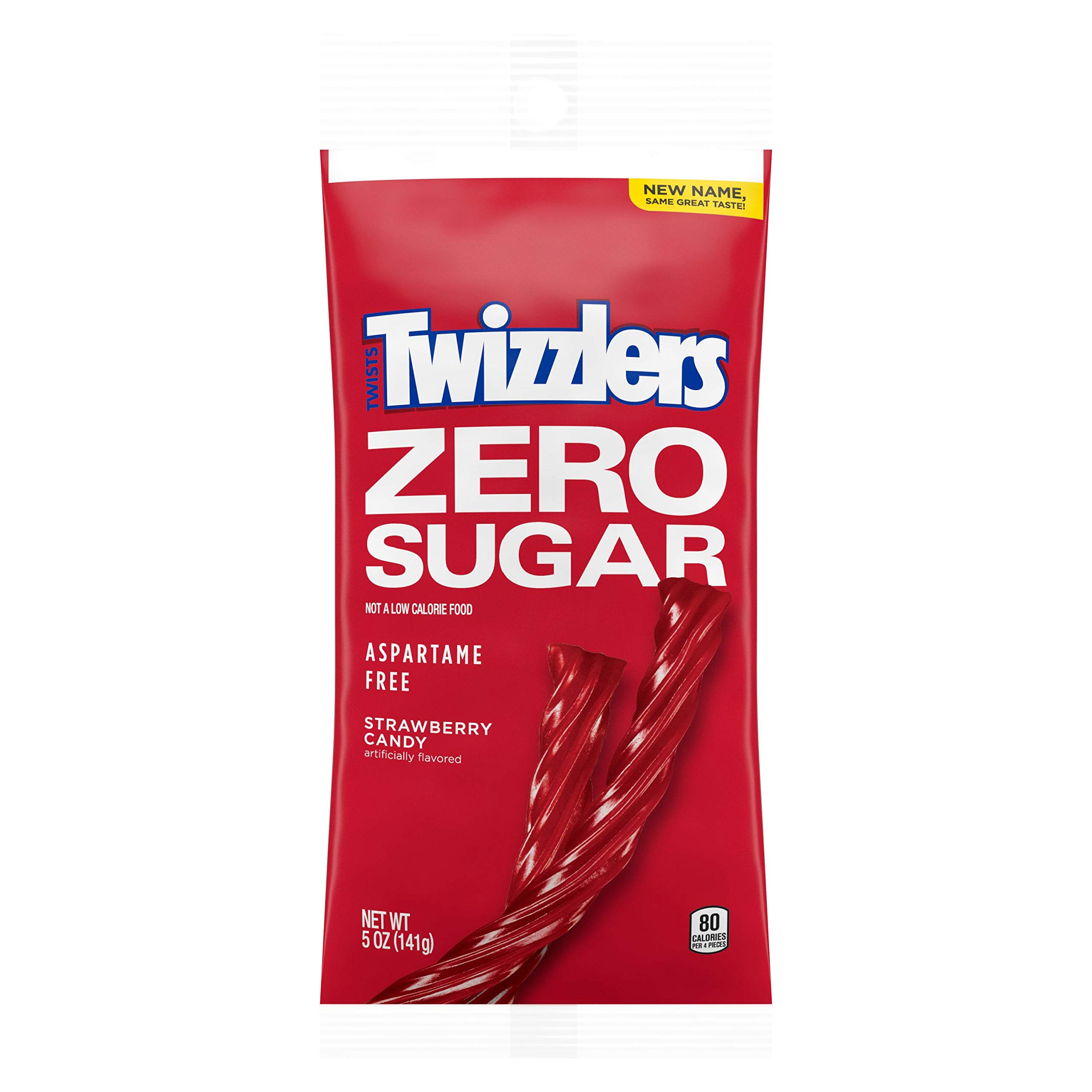 TWIZZLERS Sugar Free Strawberry Twists (5-Ounce Bag)