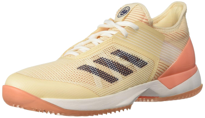 adidas Women's Adizero Ubersonic 3 w Clay Tennis Shoe B0719JYPHX 6.5 B(M) US|Ecru Tint/Noble Indigo/Chalk Coral