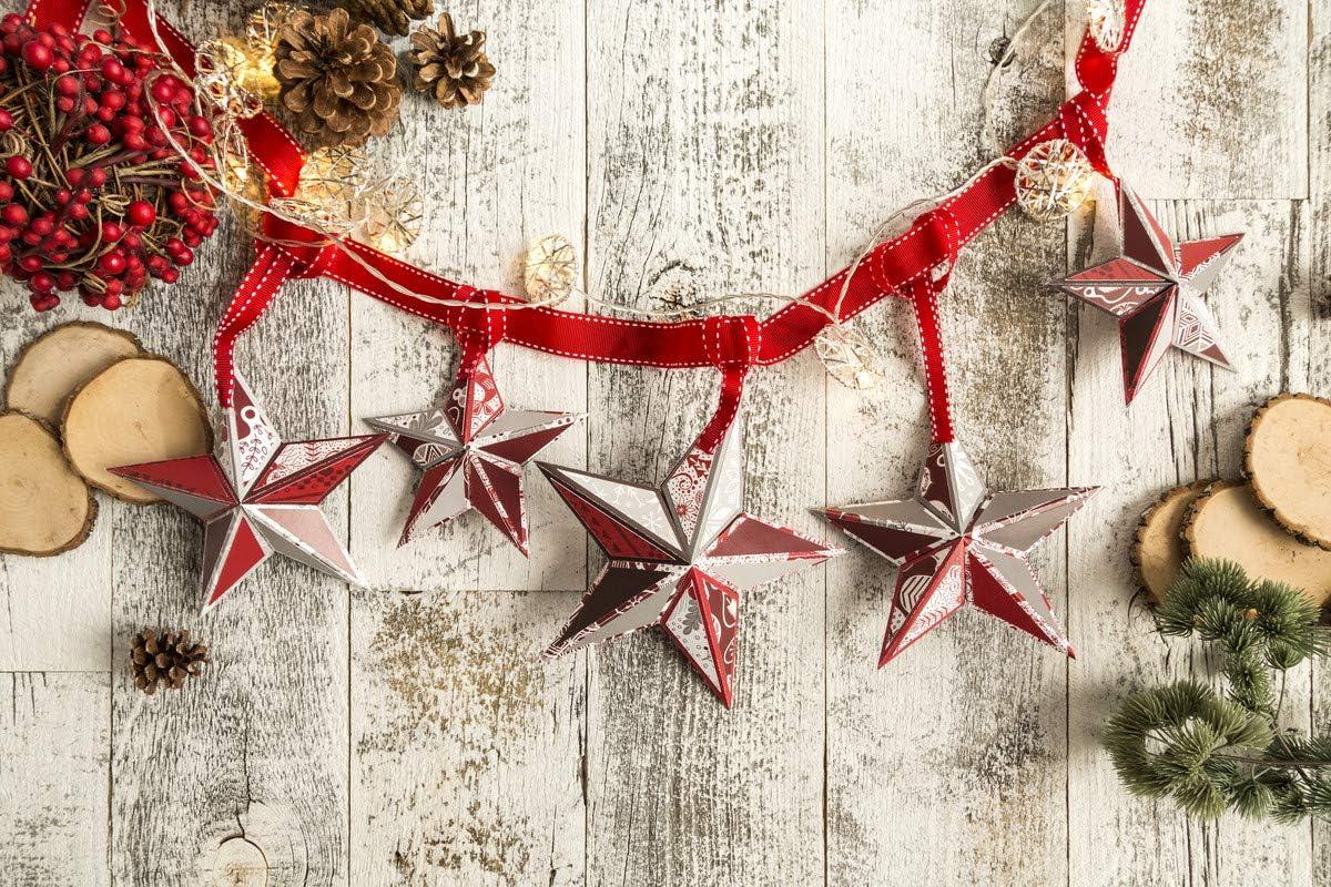 Cricut 北欧 クリスマス デラックスペーパー スパークル シマーペーパー ペン バンドル