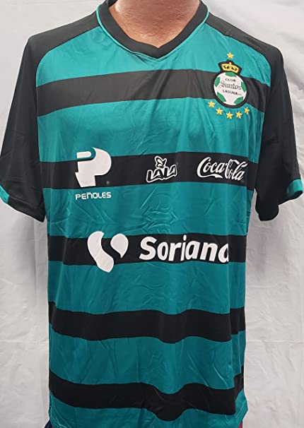 6c8c30190 Image Unavailable. Image not available for. Color  New! Santos Laguna  Generic Replica Jersey ...