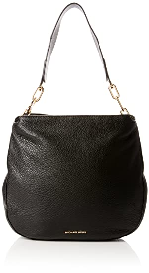 bee5727fc435 Michael Kors Womens Fulton Shoulder Bag Black (Black): Amazon.co.uk ...
