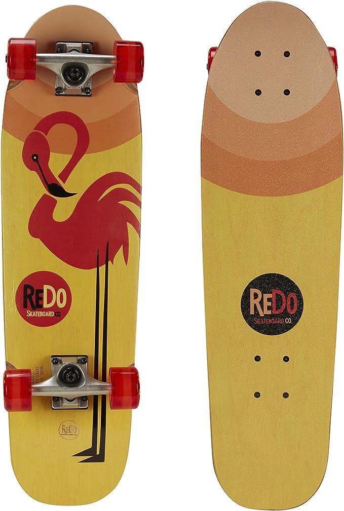 ReDo Skateboard 28.5″ x 8″ Zodiac Premium Cruiser