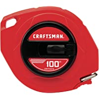 CRAFTSMAN Tape Measure, Steel Blade, 100-Foot (CMHT34216)