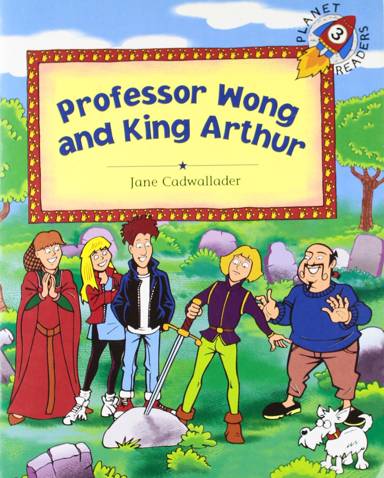 professor wong and king arthur planet 3 spanish edition jane