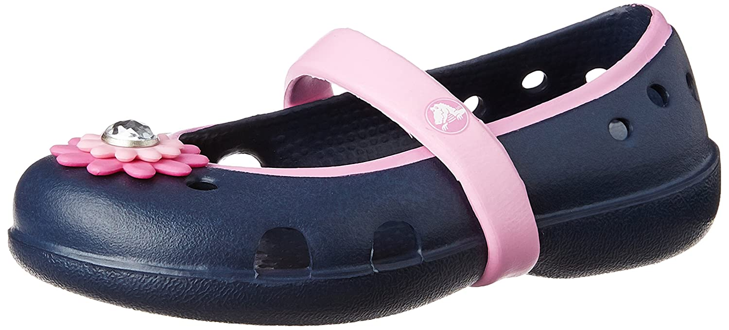 Crocs Girls' Keeley Petal Charm Flat PS