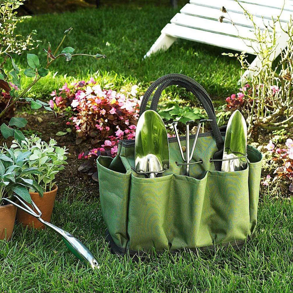 Cabilock Bolsa de horticultura de Moda Oxford Duradera Bolsa de Herramientas de jard/ín Conveniente Multifuncional para Recortar jardiner/ía