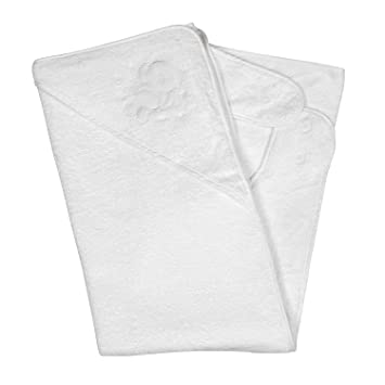 Amazon Com Clevamama Splash And Wrap Baby Bath Towel Hood White