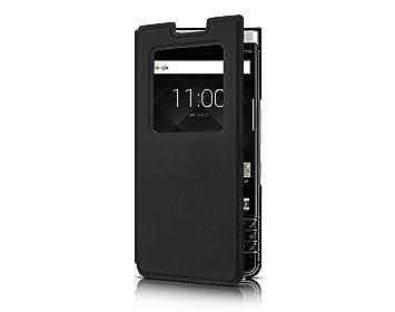 quality design 52bdd 022cd Blackberry Keyone Black Smart Flip Case - FCB100