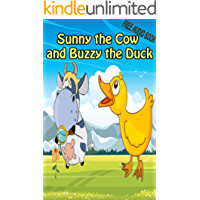 Value books for kids: Sunny the Cow and Buzzy the Duck (WITH ONLINE AUDIO FILE ): bedtime story for kids ages 1-7 | top kid books