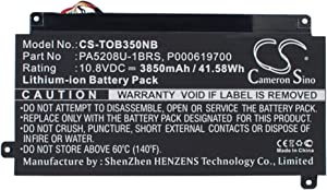 3850mAh Replacement for Toshiba Chromebook CB35, ChromeBook CB35-A3120, ChromeBook CB35-B Battery, P/N P000619700, PA5208U-1BRS