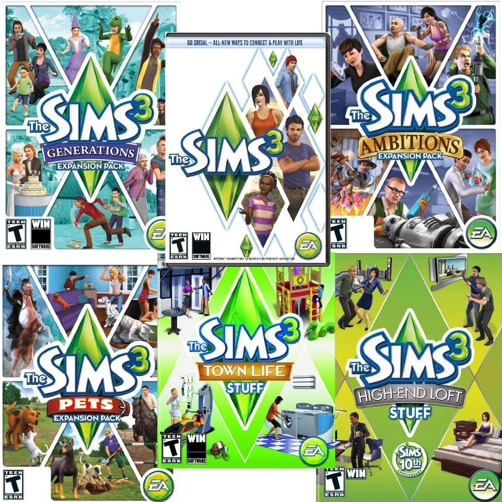 Amazon com: The Sims 3 Starter Pack [Download]: Video Games