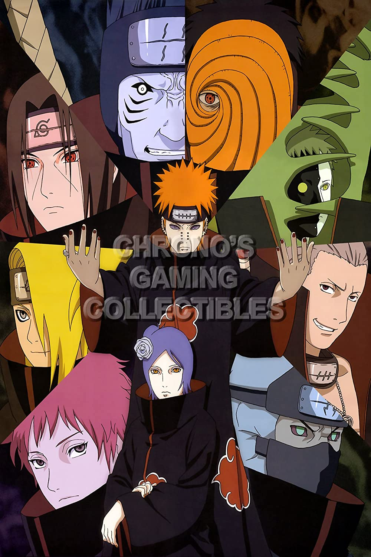 CGC Große Poster – Poster Anime Naruto Shippuden Ova – Akatsuki – nar034,  16