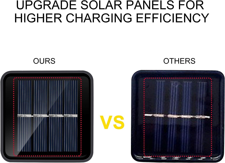 Gelb IDESION Solar LED Lampion Lichterkette IP65 20er LED Solar Lichterkette Wasserdicht f/ür Innen und Au/ßenbereich