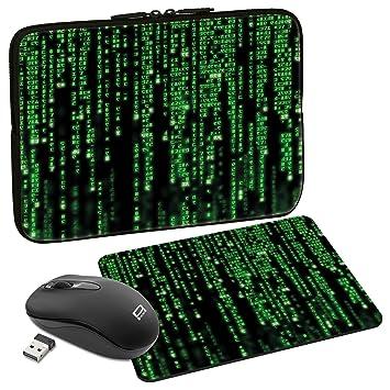 Pedea Protective Sleeve Notebook Case 10    3 Inch Matrix 156 Zoll Maus Und Mauspad Amazon Co Uk Computers Accessories