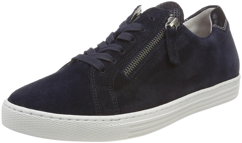 Gabor Shoes Comfort Basic, Zapatos de Cordones Derby para Mujer 37 EU|Azul (Ocean/Nightblue)