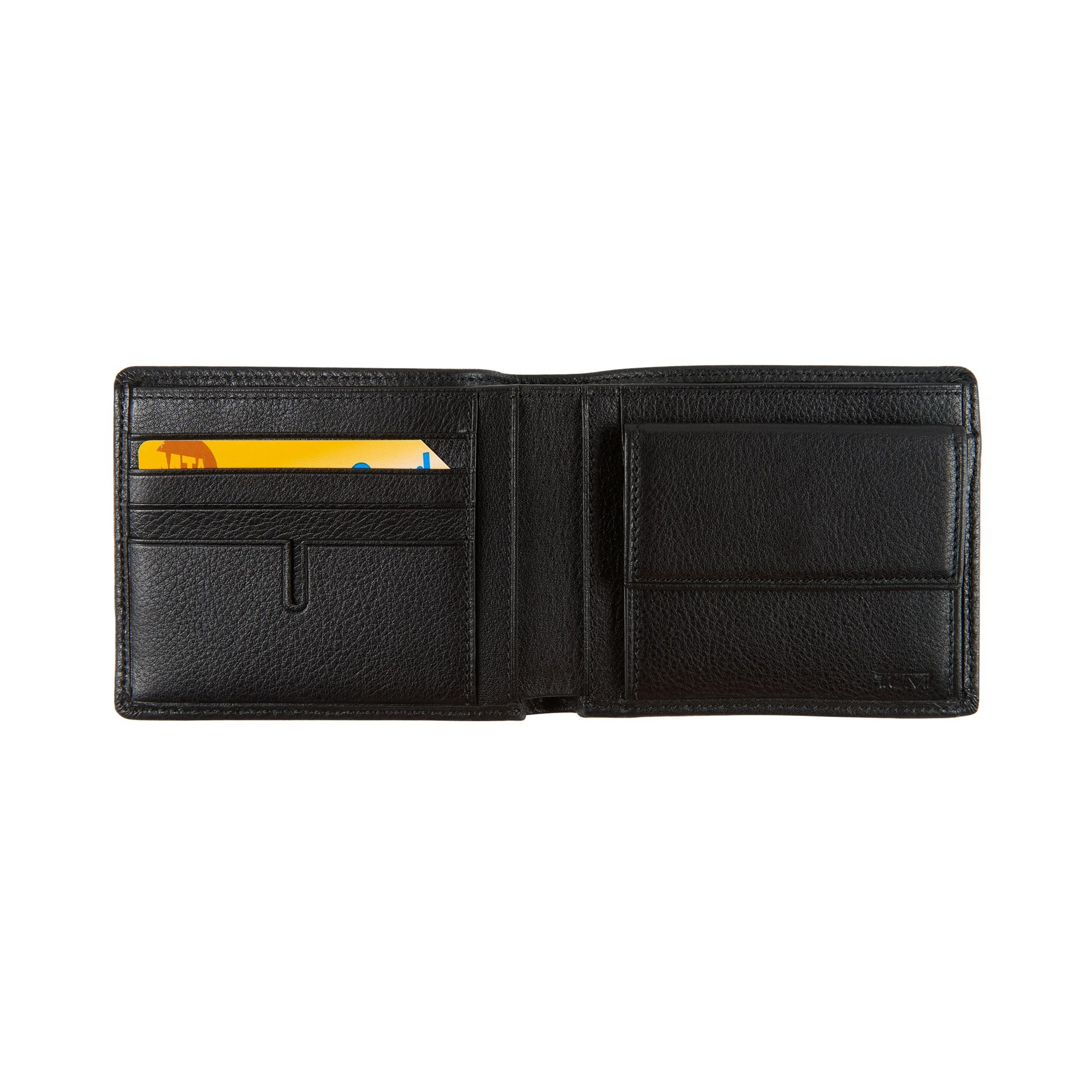 Tumi Mens Nassau Global Wallet with Coin Pocket Black Textured One Size by Tumi (Image #2)