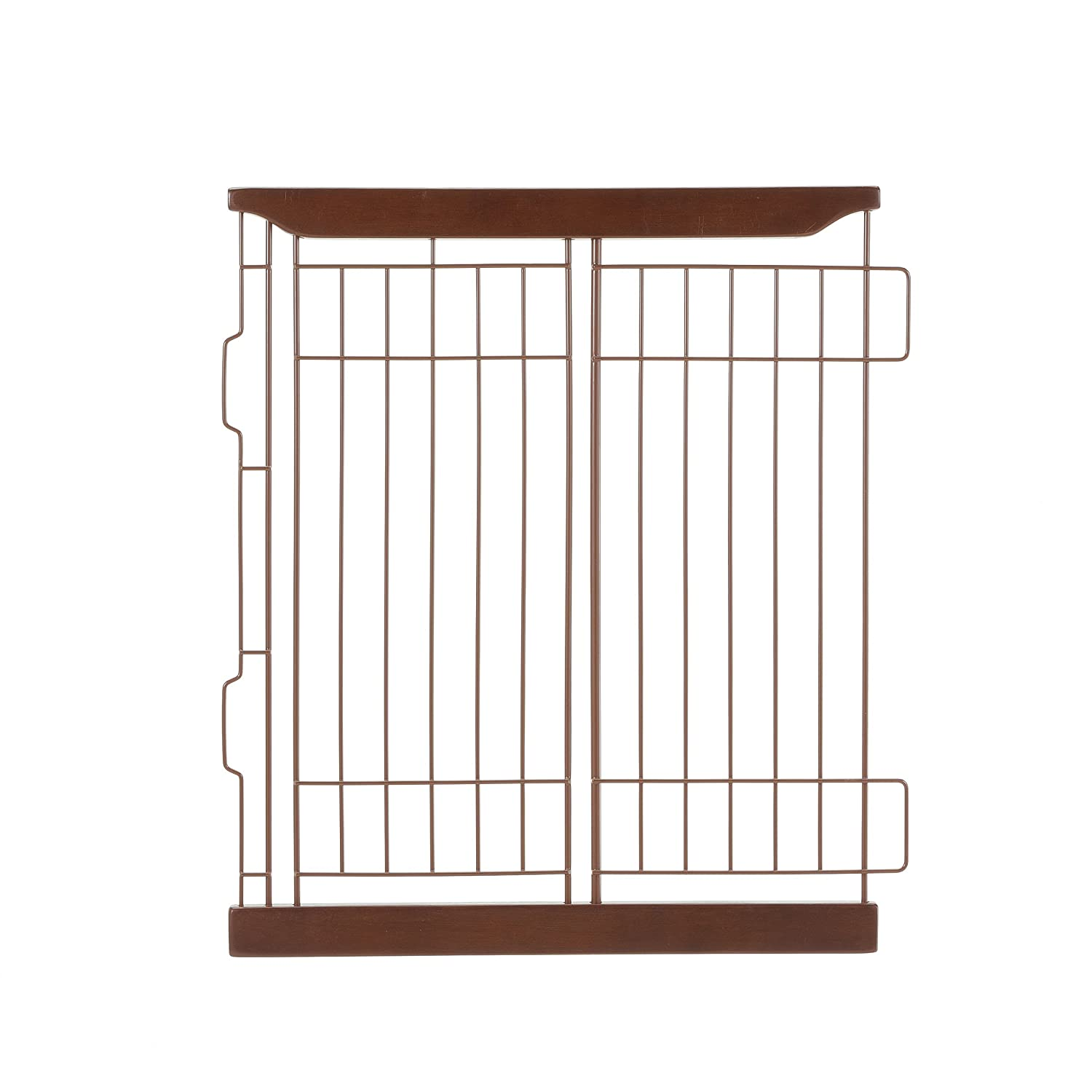 Richell Expandable Pet Crate Divider, Small, Dark Brown