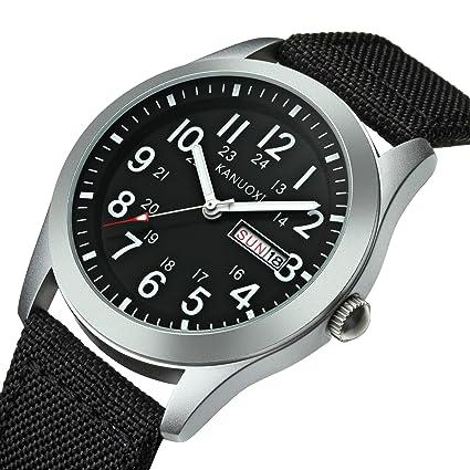 Amazon.com: NOMSOCR - Reloj de pulsera digital para hombre ...