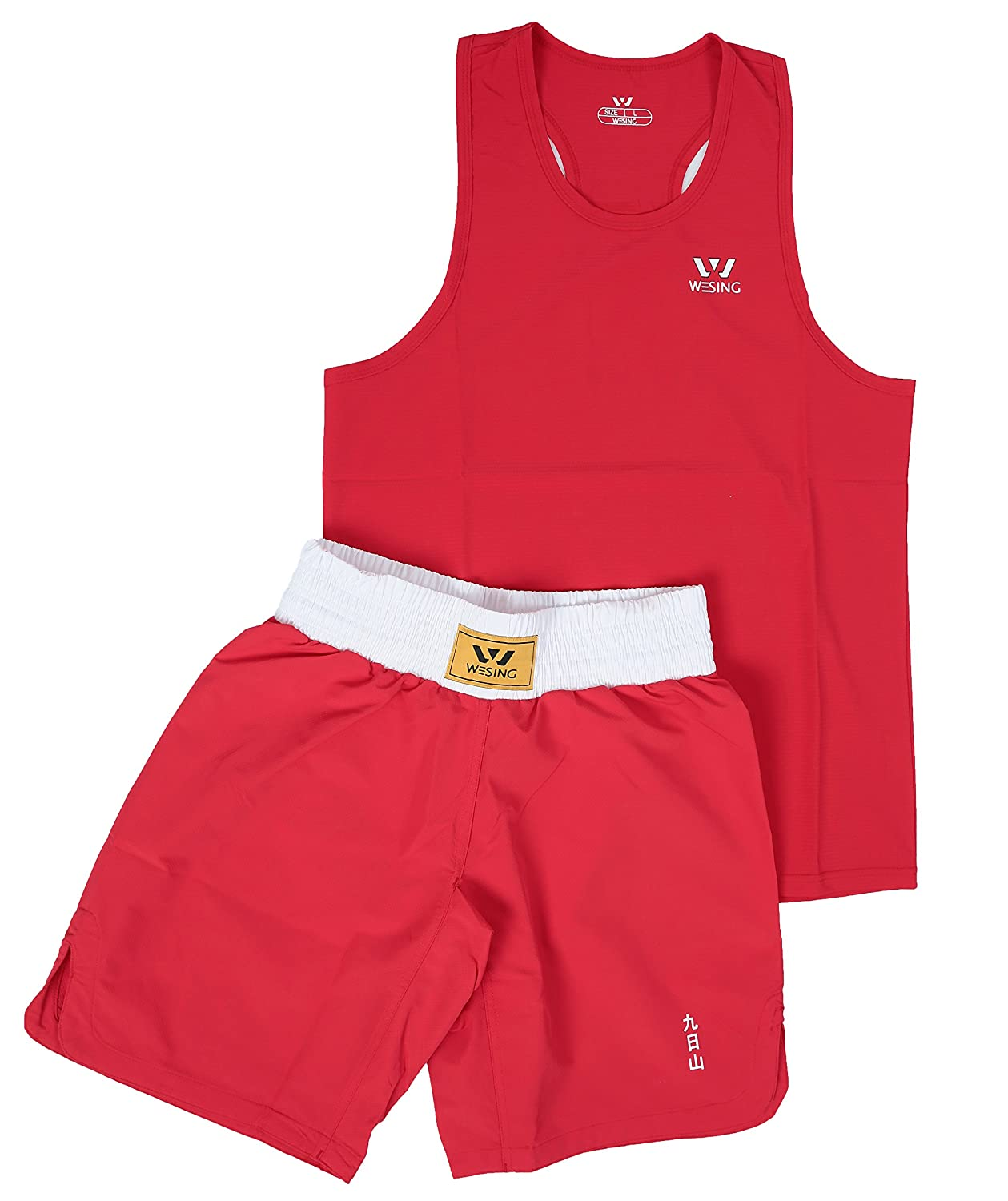 Wesing Boxing uniform boxing suit Amateur Boxing Set