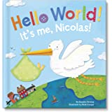 Hello World! Personalized Board Book: I See Me! Book / Great Baby Gift!