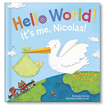 Amazon hello world personalized board book i see me book personalized board book i see me book great baby gift negle Choice Image