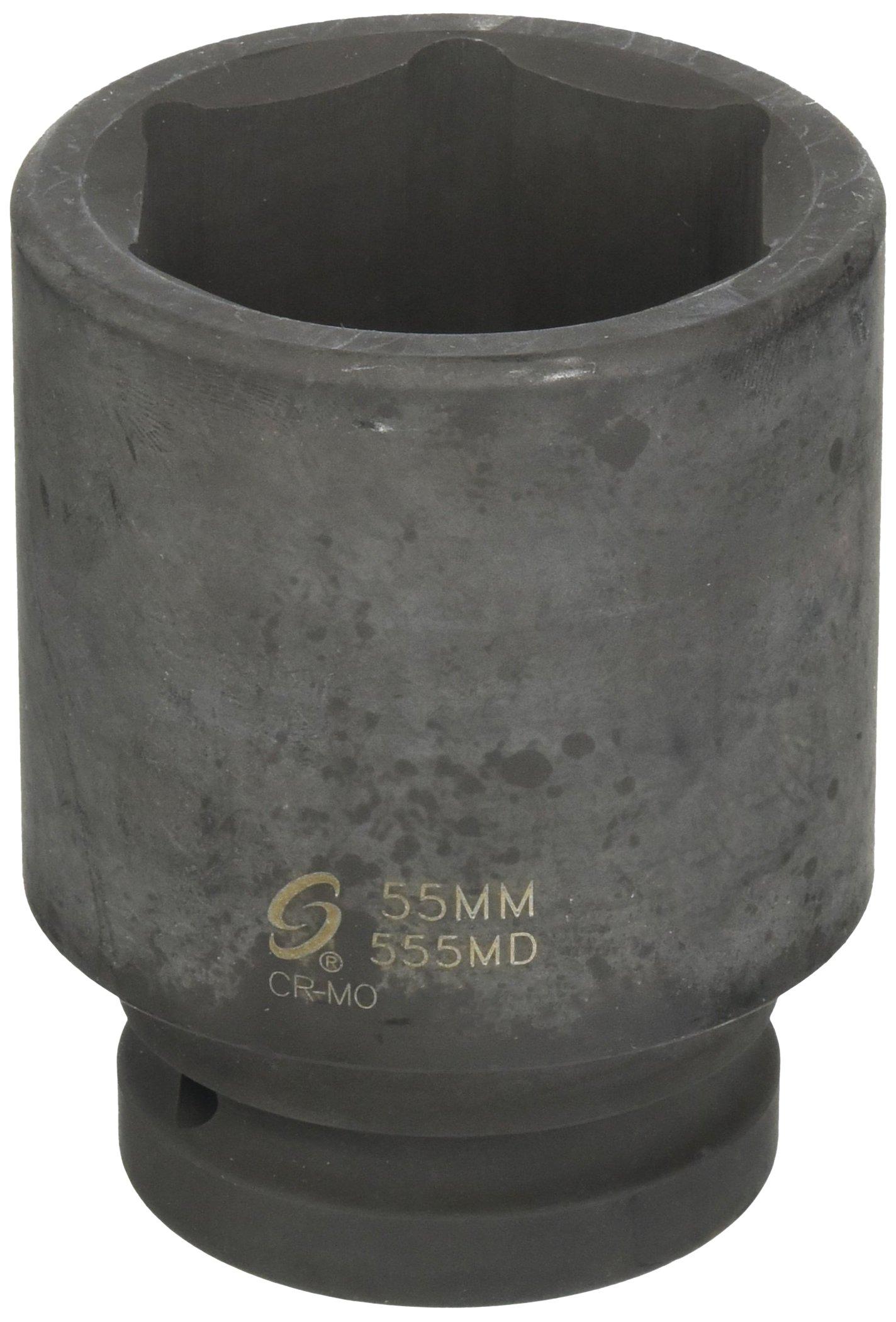 Big Roc IDS155 Air Deep Impact Socket 1'' X55Mmx110L Chrome Molybdenum/Card